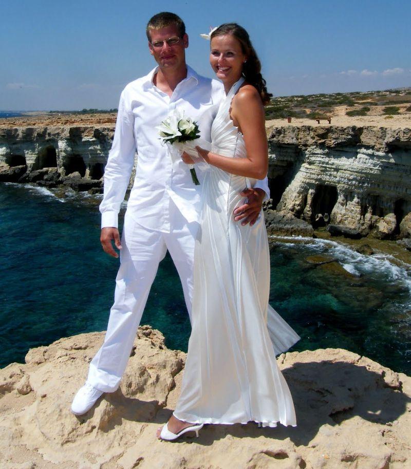 A ciprusi tengerparton